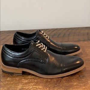 Stacy Adams Dickinson Cap-Toe Lace-up Oxfords
